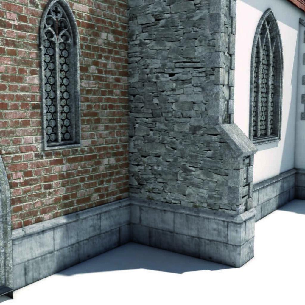 Фасады из натурального камня Инжелит